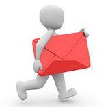 Avis de contrôle : à envoyer avec adresse ! Sinon : annulation.